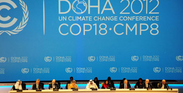 United Nations Climate Change Conference in Doha, Qatar 2012